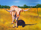 Major - Bovine Gallery - Wildwood Studio - Kristine Byars