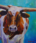 Miss Boston - Bovine Gallery - Wildwood Studio - Kristine Byars