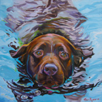 Water Lilly - Canine Gallery - Wildwood Studio - Kristine Byars